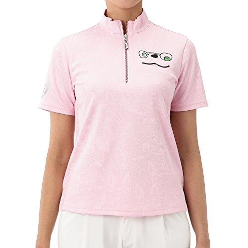 MU SPORTS(エム ユースポーツ) 701W1406 ハーフジップ半袖シャツ ピンク 40サイズ 701W1406 M?U SPORTSは高感度でハイクオリティ、そのまま街へ出かけたくなる、そんなスタイルを提案します。