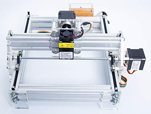 Lulong Laser Cutting Machine DIY Gift Marker Laser Engraving Machine Blue Violet Light (1000mW)