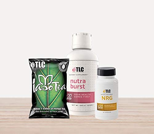 Tlc Iaso Nrg Natural Energy Boost And Weight Loss