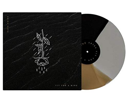 Fit for a King - Dark Skies Exclusive Limited Edition Tri-Color Gold, Black, and Gray Vinyl LP ()