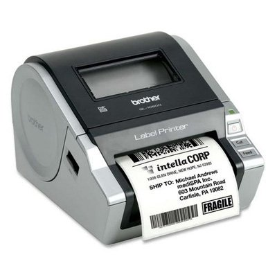 Brother QL-1060N Network Thermal Label Printer Monochrome – Thermal Transfer – 4.33 in/s Mono – 300 dpi – Serial USB