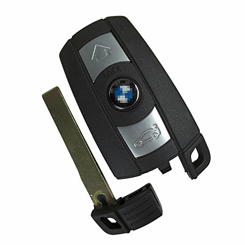 (Just a key Shell) NEW Replacement Car Smart Key Keyless Entry Remote Key Shell Case for BMW 525i 325i M6 M5 650i 550i 128i 135i 328i 328xi 330Ci 330xi 335i 1 3 5 7 X5 X6 KR55WK49127