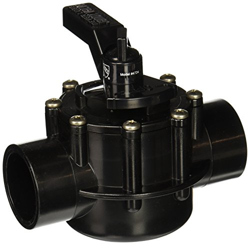 2 Way Pool - Jandy 4724 2-Port 1-1/2 to 2-Inch Positive Seal NeverLube Valve