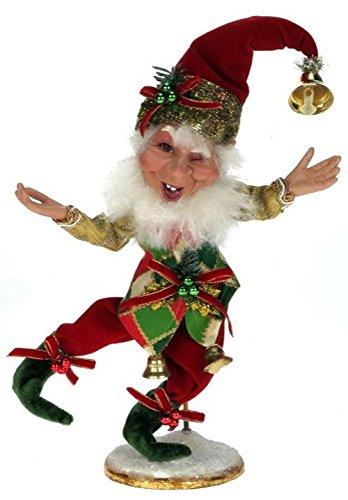 "Mark Roberts2014 Bell Ringer Elf sm 10.5"""