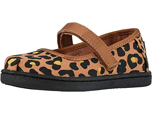 - TOMS Kids Baby Girl's Mary Jane (Infant/Toddler/Little Kid) Toffee Cheepard Print 9 M US Toddler