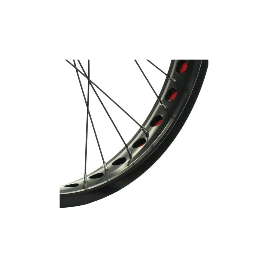 Stars Cirle BMX Bike Wheels Wheelset Oversized 20 Inch