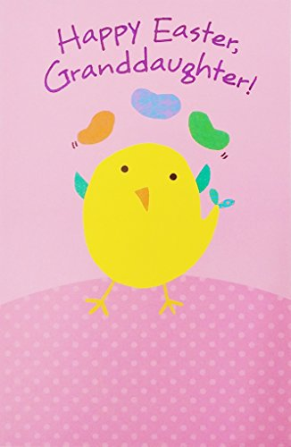 Happy Easter Granddaughter Greeting Card -