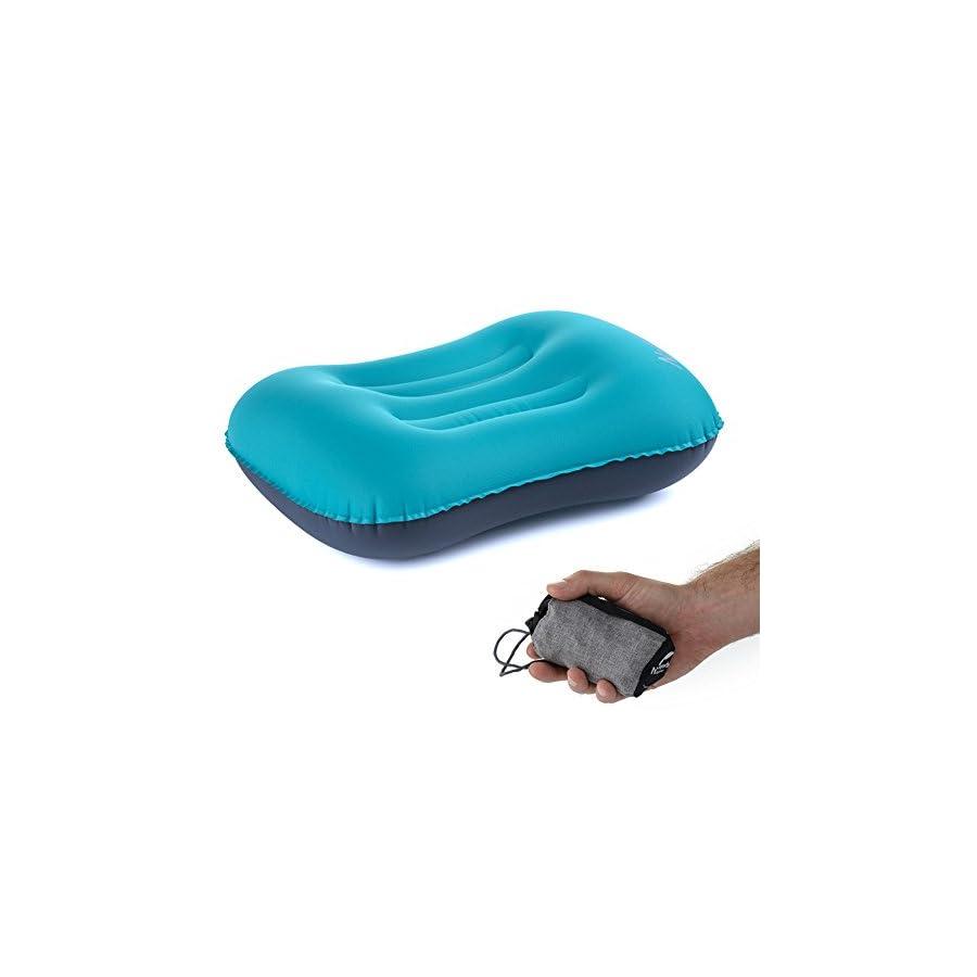 Kalili Ultralight Travel Camping Inflating Pillow Aeros Neck Protective Pillow