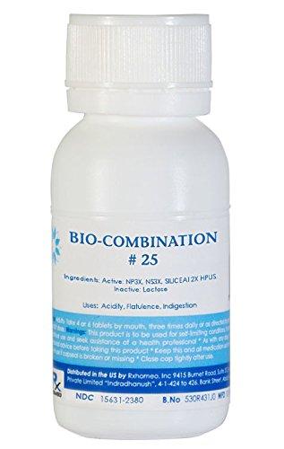Amazon com: Bio-Combination # 25 - Acidity, Flatulence, Indigestion