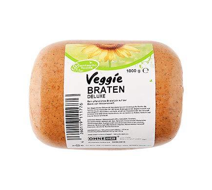 Vantastic Foods VEGGIE BRATEN DELUXE, 1kg | Seitan Braten | Ostern | Vegan | Veganer Fleischersatz | Fleischalternative