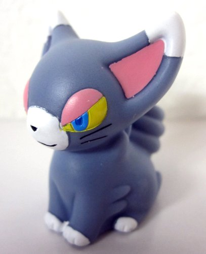(Bandai Pokemon Finger Puppet Mini PVC Figure - Glameow)