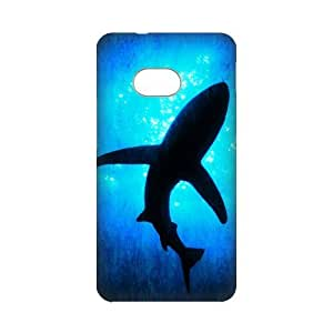 diy zhengDIY Case Cute Shark Underwater Sea Shark Jumping Hard Plastic Back Case Cover for Personalized Case for iphone 5/5s Case-Perfect as Christmas gift(2)