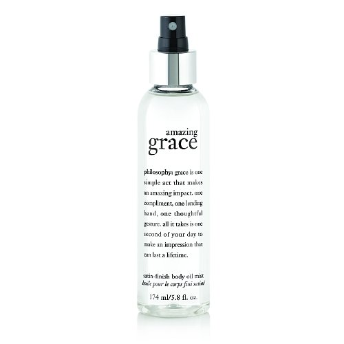 Satin Body Oil (philosophy amazing grace satin-finish body oil mist 5.8 oz by AB)