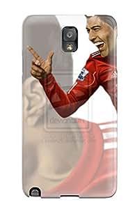 Frances T Ferguson Case Cover For Galaxy Note 3 - Retailer Packaging Luis Suarez Protective Case