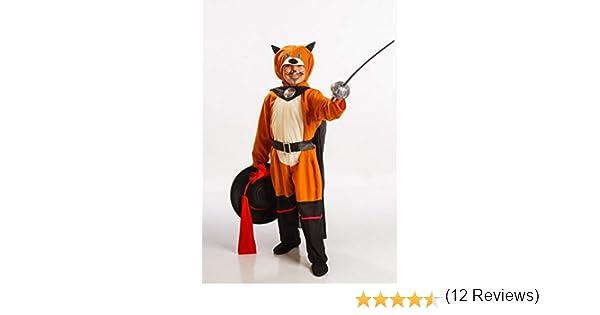 Disfraz de Gato con Botas para Niño: Amazon.es: Juguetes y juegos