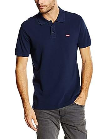 Levi's Housemark Polo, Camiseta para Hombre, Azul (104 Dress Blues X 3), Small