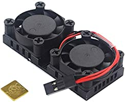 non-brand DC 5V CPU Placa Ventilador Doble Disipador Calor ...