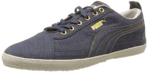 Puma De Ville Navy Homme Serve white Bleu gold Chaussures Pro Denim brown new rwIrqF1