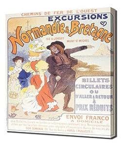 Normandie Et Bretagne Excursions 001 - Pintura en lienzo