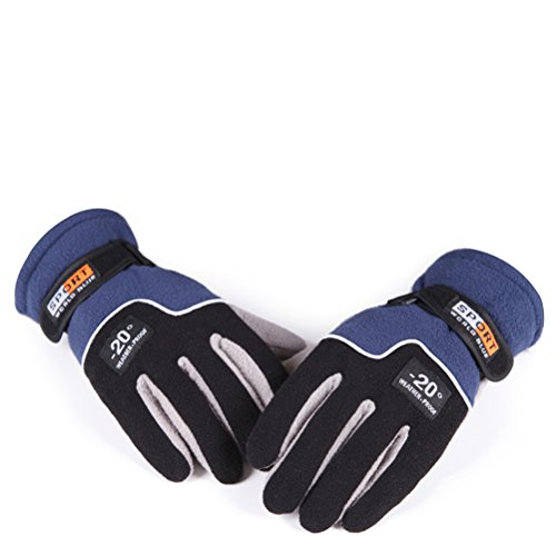 Men's Fleece Riding Gloves for Outdoor Warm Windter Blue - Girls Glacier Fleece Pant