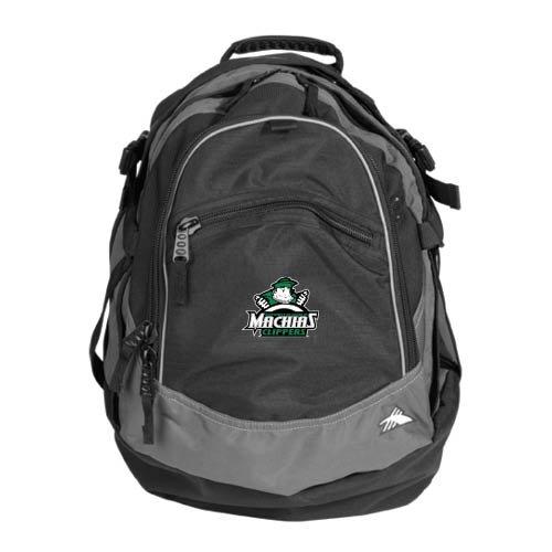 Maine Machias High Sierra Black Fat Boy Day Pack 'Official Logo'