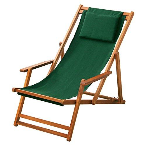 3段階のリクライニングデッキチェア【マエストロ-MAESTRO-】(ガーデニング 椅子 リクライニング) B012RGFR48