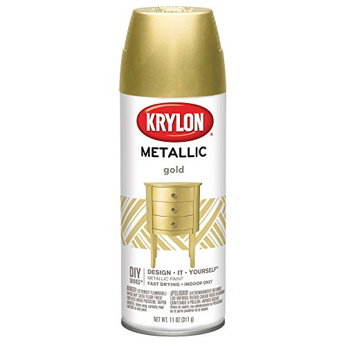 (KRYLON DIVERSIFIED BRANDS 1706 12OZ Gold Spring Paint )