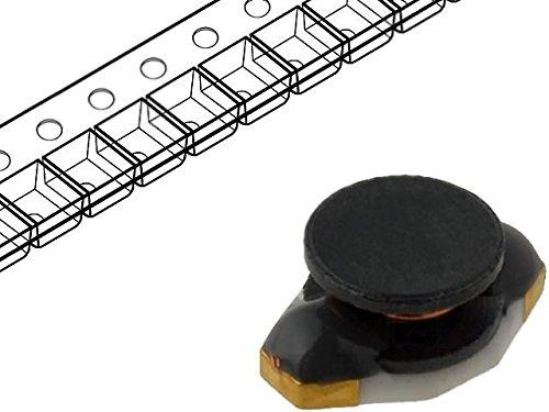 5x DL16-22 Inductor wire 22uH Ioper0.8A 0.37Ω SMD Isat0.7A B4.45mm FERROCORE