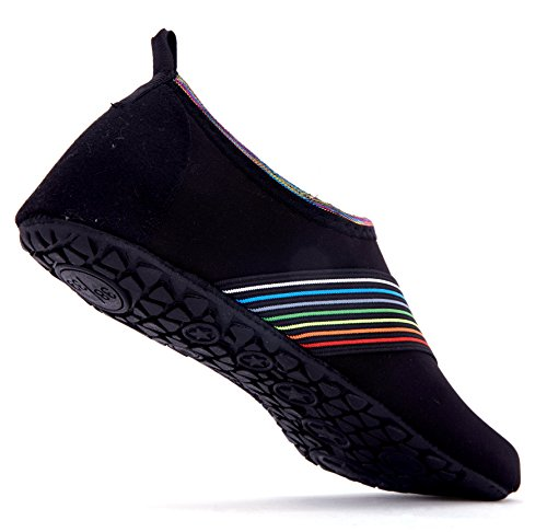 Dry Giotto Water Black Women Quick Non Barefoot bevel Swim Kids E1 Slip Men Shoes qwwXHBF6r