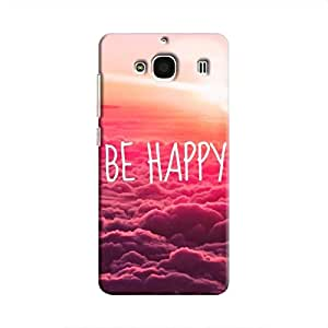 Cover It Up Be Happy Hard Case For Xiaomi Redmi 2