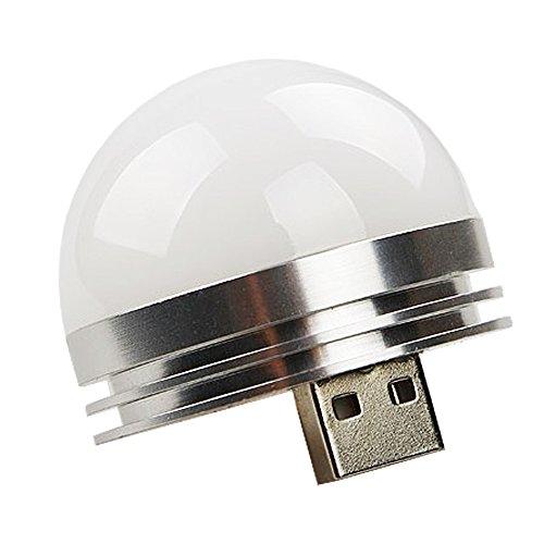 LED Tent Light Camping Hiking Flash light USB Cable 3w Bulb Aluminum (Aluminum Powerbook)