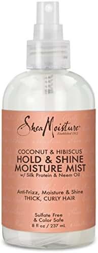 SheaMoisture Coconut & Hibiscus Hold & Shine Moisture Mist, 8 Fluid Ounce