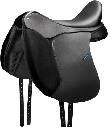 NEW WINTEC 500 DRESSAGE SADDLE WITH CAIR BLACK 17