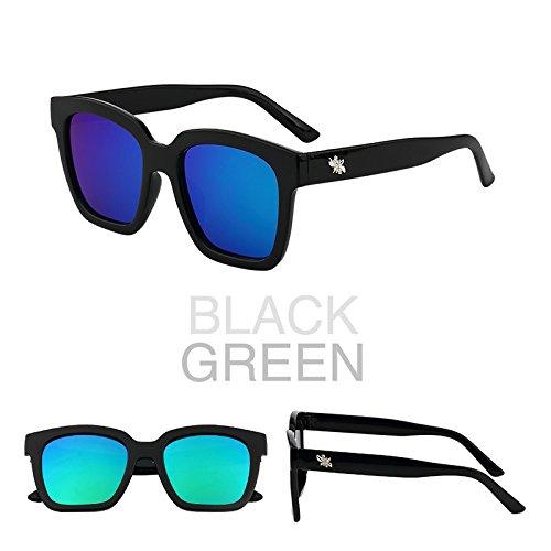 les lunettes de soleil les lunettes de soleil les lunettes de soleil star des lunettes nouveaux visages l'élégance la personnalité la corée du sudboîte noire (sac) grey film OGVas3
