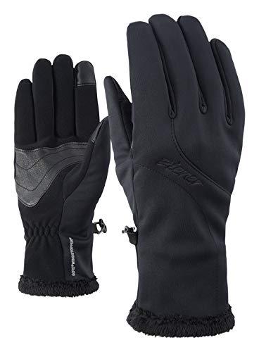 Ziener Damen INOLA GTX INF Touch LADY glove Multisport Funktions- / Outdoor-Handschuhe | winddicht, atmungsaktiv, Black, 6