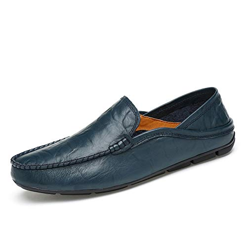 options Décontractées Pure Mode Low Marine Taille Bleu color Pantoufles Chaussures La Masculine Creuses Conduite Homme Eu shoes 40 Pour 2019 Hollow Xujw D'été up Yellow x6aPx