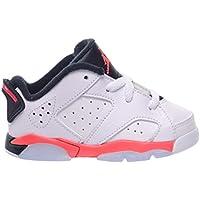 Jordan 6 Retro Low BT Toddlers Baby Infants Shoes White Infrared 23-Black  768883 c18b8e340