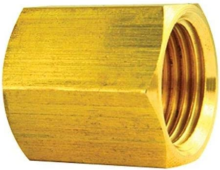 Brass Brake Line Union 10//bag 5//8-18 Inverted 3//8