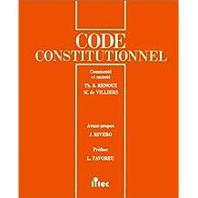 Code constitutionnel et parlementaire (ancienne édition)
