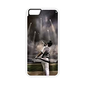 """YNACASE(TM) Fire Yellow Softball Customized Cell Phone Case for iPhone6 Plus 5.5"""",Customized Cover Case with Fire Yellow Softball"""