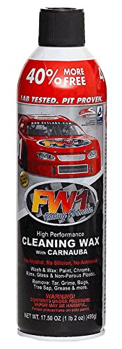 1 CANS OF FW1 WATERLESS DETAIL CLEANER WITH CARNAUBA WAX CAR WASH FREE SHIPPING (Car Wax Fw1 compare prices)