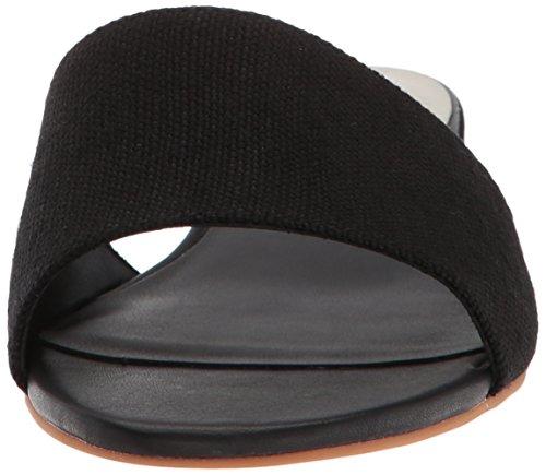 Adalea Slide Black Linen Dolce Women's Vita Sandal qFwPSE0