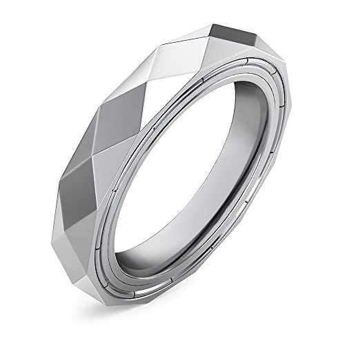 TaoTronics Anti-Anxiety Fidget Spinner Ring, Stainless Steel Fidget Toy for Men and Women (Relieves Stress, ADHD, and Anxiety)
