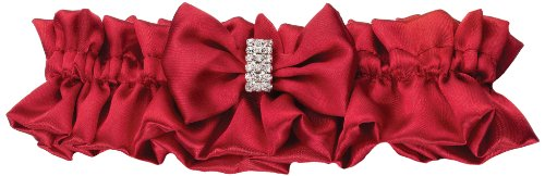 Lillian Rose Garter, Diamond Red