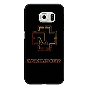 Popular Band Rammstein Band Phone Case For Samsung Galaxy S6 Edge Case,Rammstein Band Logo Samsung Galaxy S6 Edge Black Hard Plastis Case Cover