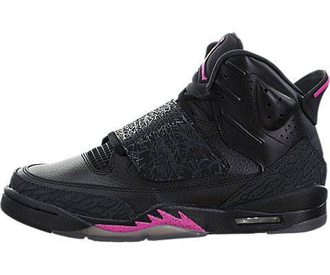 newest 48e8c aabf5 Jordan Air Son of Mars Kids Black Pink Size 5 Youth