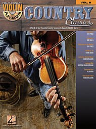 Hal Leonard Country Classics Violin Play-Along Volume 8 Book/Online Audio - Jambalaya Music Book