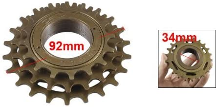 DealMux Reemplazo Bicicleta Vespa Metal piñón de la Rueda 3 ...