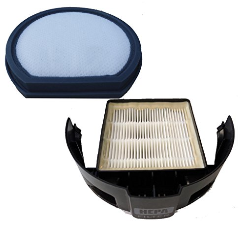 EnviroCare 1 Hoover Windtunnel T-Series Filter Set Primary (Pre) Filter + HEPA Exhaust Vacuum Cleaner Allergy