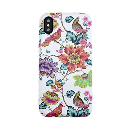 Luminous Peace Dove Cases for iPhone 6 6s 7 8 Plus Thrush Lily Flower Painting Bird for iPhone X Honeysuckle Cases Cover,Gs,for iPhone 8 Plus